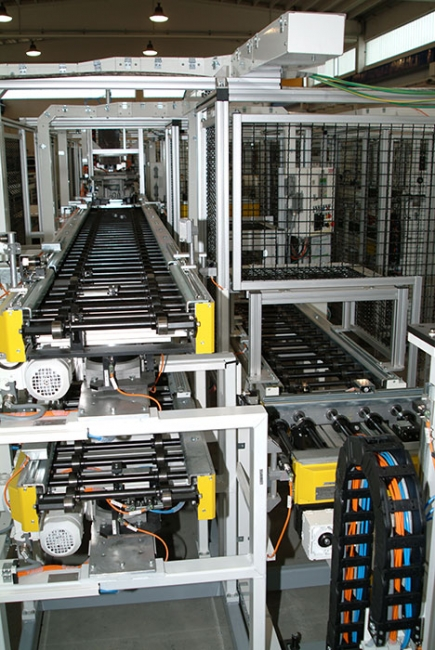Frictioned Roller Conveyors