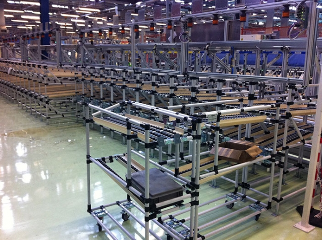 Gravity Roller Conveyors (spiral conveyor and feeding gravity system SAG)